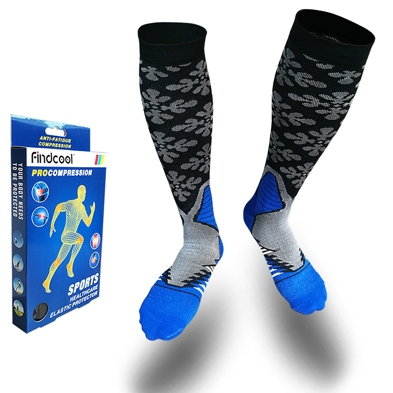 45189893e YISHENG Compression Stockings For Men   Women 20-30 mmHg Best Stockings Fit  Breathable For