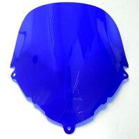 Blue Windscreen Windshield Shield Screen For SUZUKI KATANA GSX600F GSX750F GSX 600F 750F 1998-2008 99 00 01 02 03 04 05 06 07