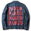 2017 Kanye West Yeezys Куртки Я чувствую, Павел Пабло Жизнь Пабло Негабаритных Куртка Мужчины Осень Зима Марка одежда