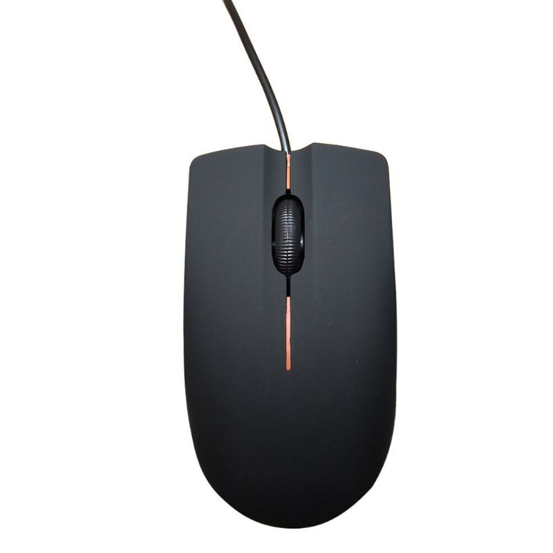 Image 2 - 130CM 1200DPI USB Wired Game Mouse Portable Frosted Surface Optical Gaming Mice for Office PC Laptop Computer Accessories qiang-in Mice from Computer & Office
