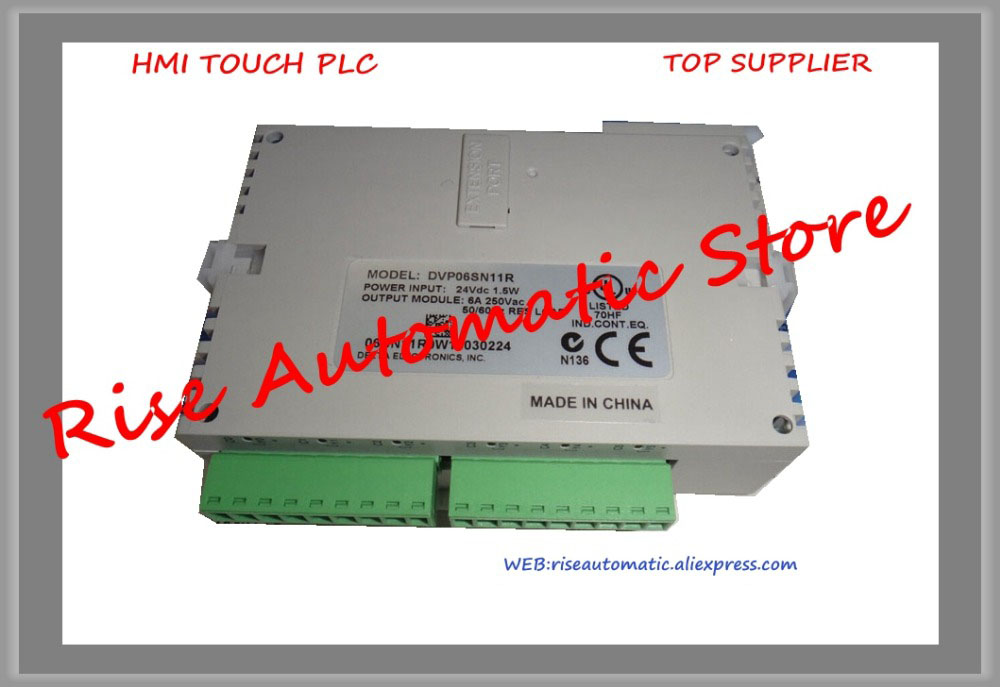 New Original Programmable Controller PLC SS series Digital Extension Module DC 6DI relay output DVP06SN11R
