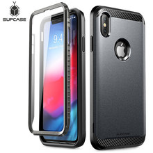 SUPCASE For iPhone Xs Max Case 6.5 inch UB Neo Series Full Body Protective Dual Layer Armor Cover with Built in Screen Protector