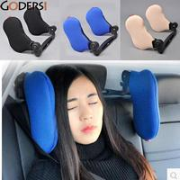 High Quality 3 Colors Car Seat Headrest Neck Pillow Neck Rest Seat Headrest Cushion Pad Neck