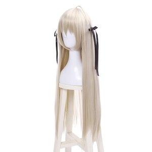 Image 2 - L e mail perücke Neue Yosuga No Sora In einsamkeit Sora Kasugano Cosplay Perücken 80cm Lange Gerade Synthetische Haar perucas Cosplay Perücke