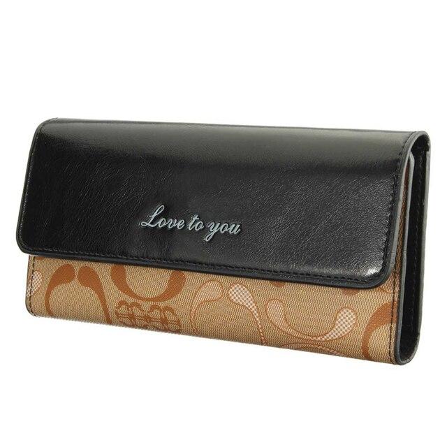 Osmond Women Wallets PU Leather Card Holder Women s Wallet Female Clutch  Long Purse Character Wallet Lady c60c9b7ab9