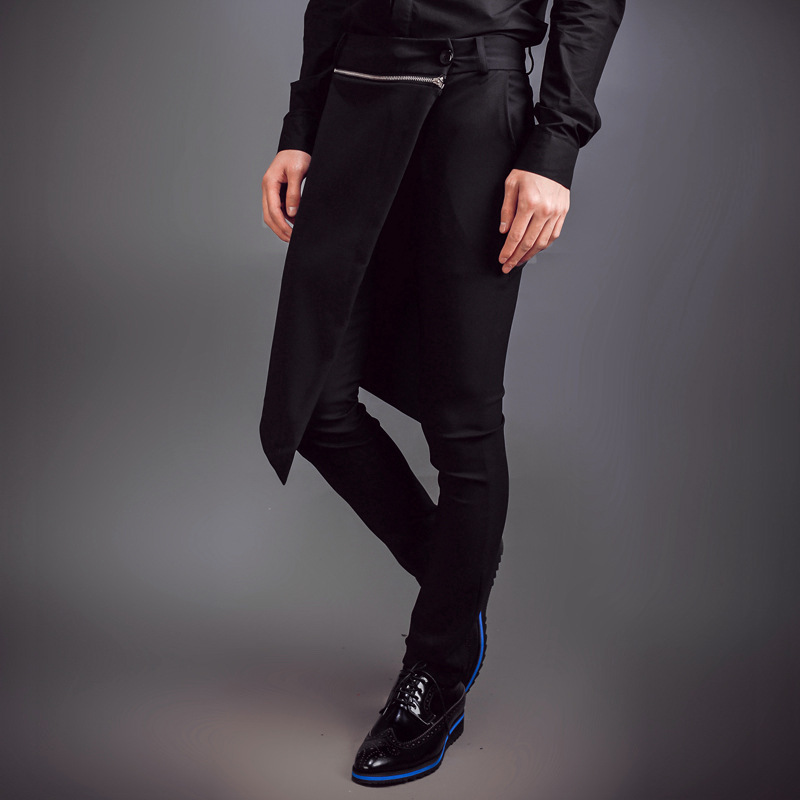 Costume Skorts Clothing Harem-Pants Fashion New 27-44 Spring Men's Djds Stage-Singer