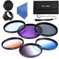 55 мм градиентный постепенный ND  UV CPL FLD  для фотоаппаратов Sony A200 A450 A300 Alpha DSLR