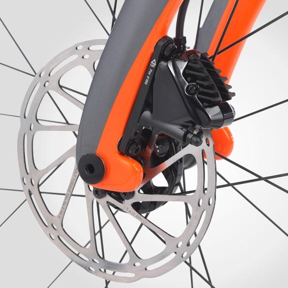 SKY AERO Tube Shape BSA BB30 BB68 700C bike frame matte glossy thru axle carbon frame carbon road bike frame Disc brake