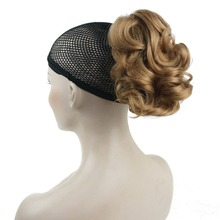 StrongBeauty Short Curly Clip In Claw Ponytail Hair Extension Synthetic Hairpiece with a jaw/claw clip