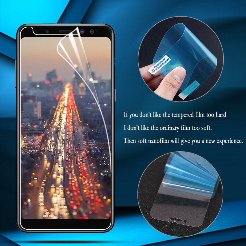 Thin-Film Screen-Protector Nano Samsung Galaxy for A8 Star A6 Plus G360 G530 J1 Explosion-Proof