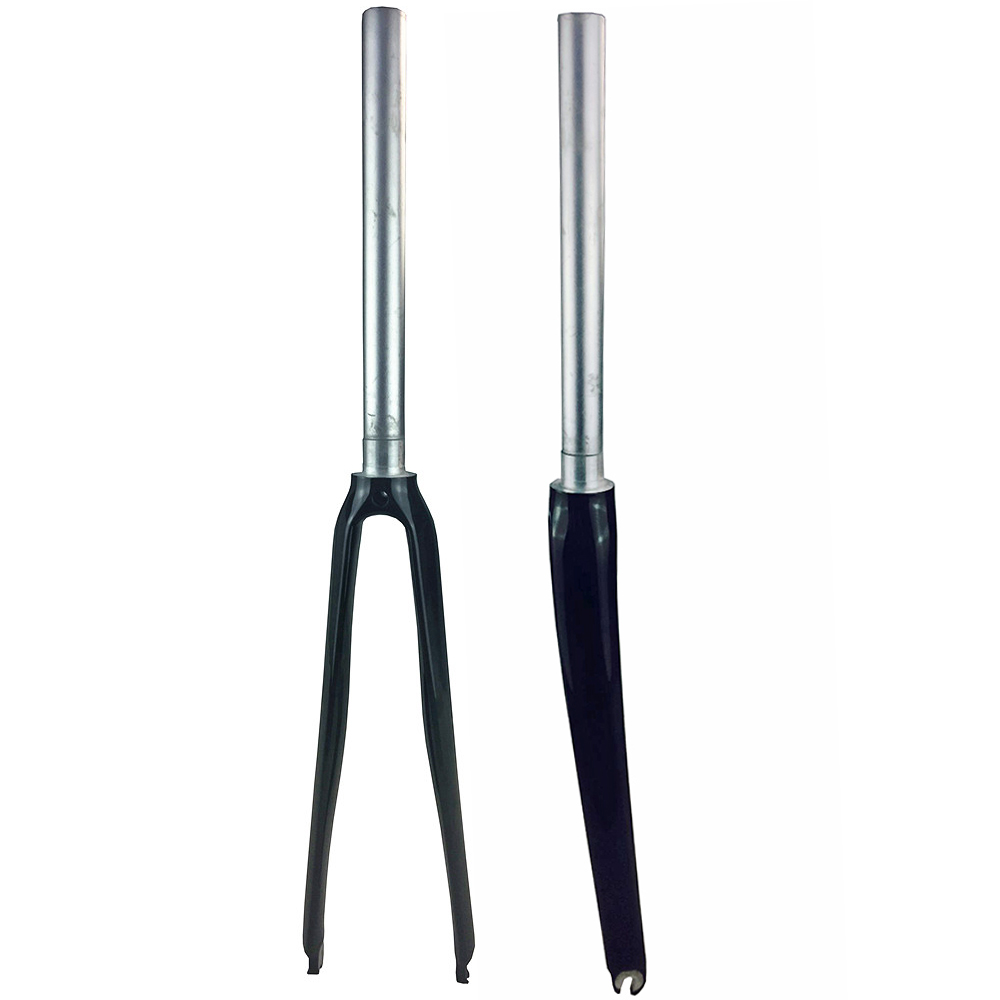 Bicycle Parts Bicycle Fork Road bike fork alloy Carbon Fork 700C 1 1 8 matt glossy