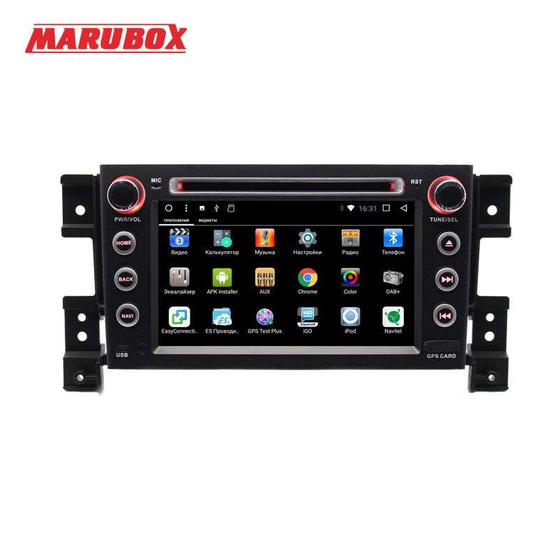 Lecteur multimédia de voiture MARUBOX 7A905DT8 pour Suzuki Grand Vitara, Octa Core, Android 8.1, GPS, Radio, Bluetooth, DVD, 8 cœurs, 2 go, 32 go - 3