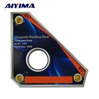 1pc Multi Angle Mini Welding Magnets Neodymium Clamp Holder Never Degaussing Lifting Welding Positioner CLA 45
