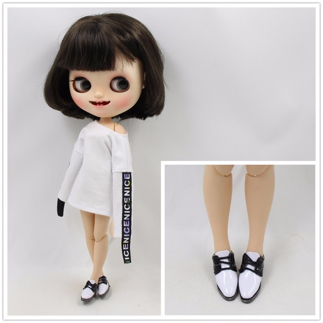 Neo & Middie Blythe Doll Leather Shoes