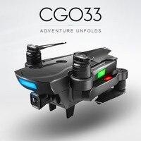 CG033 2,4 г Радиоуправляемый Дрон складной бесщеточный gps FPV Quadcopter с 1080 P Широкий формат Камера следуй за мной один ключ возврата жест Селфи
