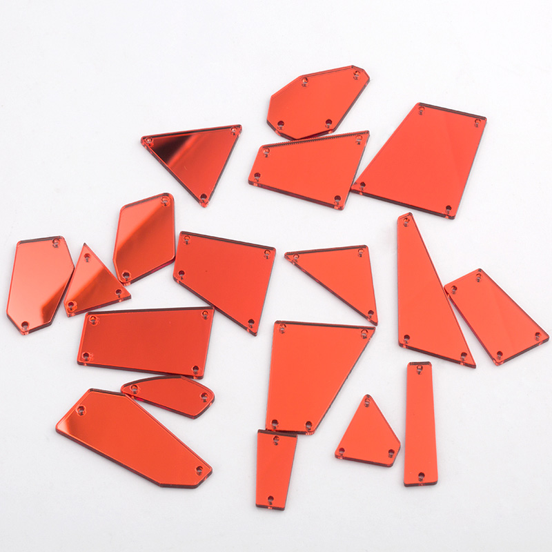 78 Pieces Red Black /& Clear Self Adhesive Rhinestone Gemstones