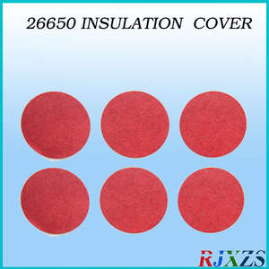 10pcs/alot 26650 insulating cover  battery protection cover  red cover