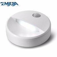 Nóng Bán DẪN Ánh Sáng Ban Đêm PIR Motion Sensor Vòng LED Tủ Năng Lượng Ánh Sáng Tiết Kiệm Đèn Tường Chiếu Sáng Bởi USB Sạc