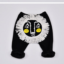 Newborn Winter Thicken 3d Design Lions Baby Boys Girls Pants Legging Infant Bebe Outfit Photo Prop Clothes Trousers Harem Pants