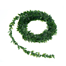 Colorful Flowers Artificial Ivy Garland Foliage Green Leaves Simulated Vine For Wedding Party Ceremony Diy Headbands