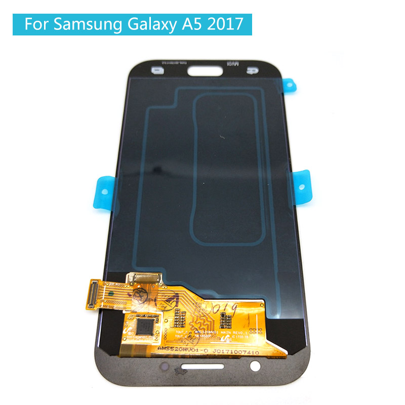 For SAMSUNG GALAXY A5 2017 LCD A520 A520F SM-A520F Display Touch Screen Digitizer Assembly Amoled LCD For SAMSUNG A520 ScreenFor SAMSUNG GALAXY A5 2017 LCD A520 A520F SM-A520F Display Touch Screen Digitizer Assembly Amoled LCD For SAMSUNG A520 Screen