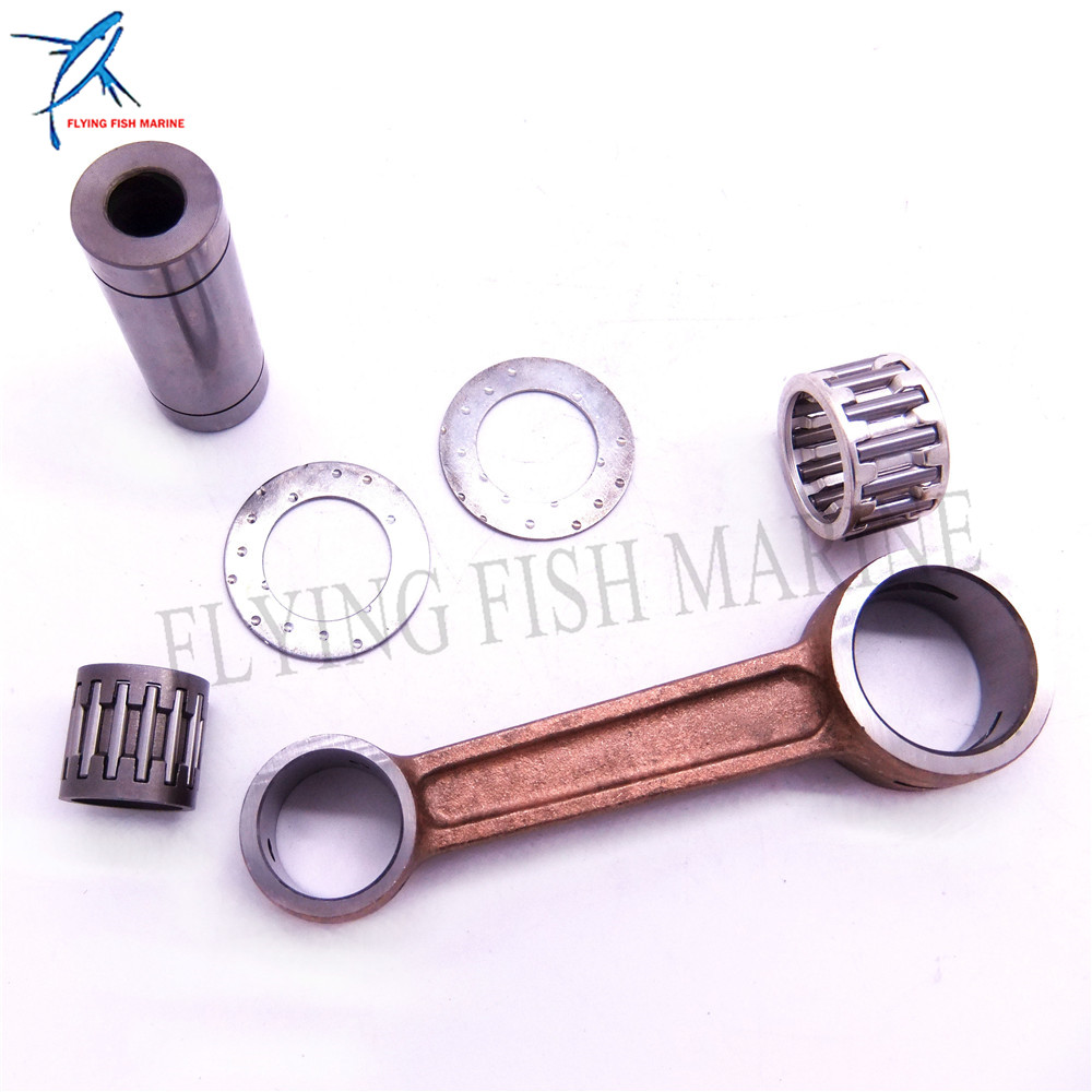 Boat Engine 12161-96300 Connecting Rod Kit For Suzuki 2-stroke DT20 DT25 DT30 20HP 25HP 30HP , Sierra Marine 18-1758