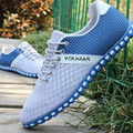 New Shoes Men 2016 Summer Casual Shoes Flat Breathable Air Mesh Leisure Shoes Non-slip Rubber Sole Footwear