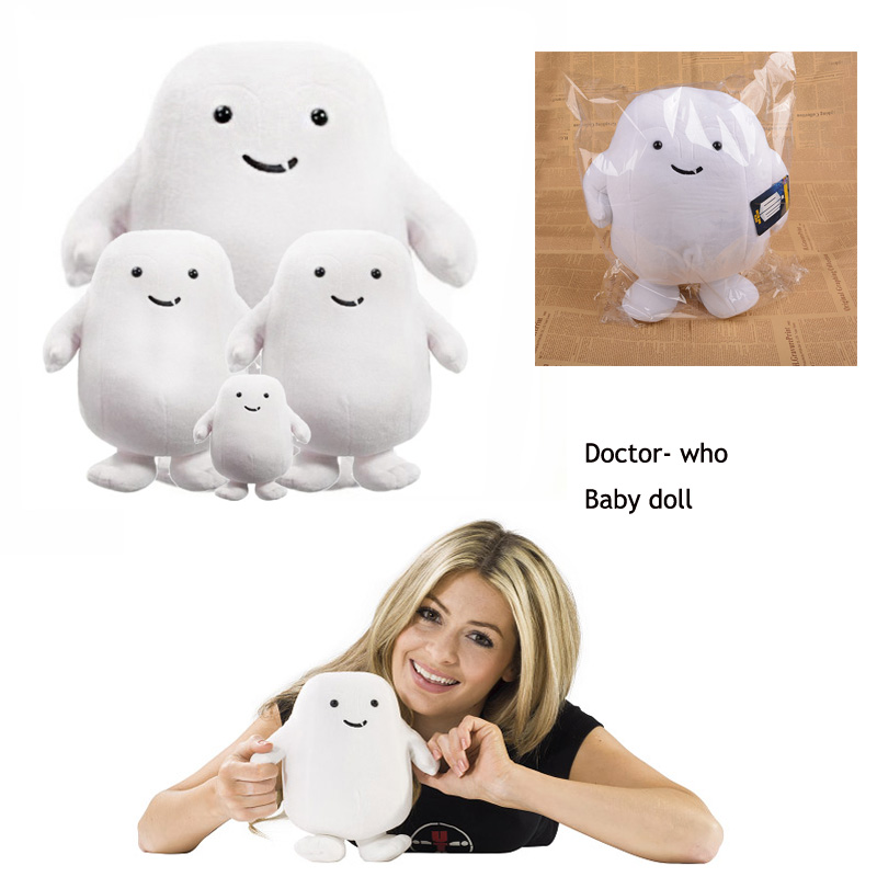 3 PCS Cute plush doll doctor who action figure  stuffed soft toys for kids birthday gift Anime doll cushion home decoration 1pc 65cm cartion cute u shape pillow kawaii cat panda soft cushion home decoration kids birthday christmas gift