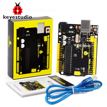 keyestudio UNOR3 ATmega328P Development Board +USB Cable For Arduino