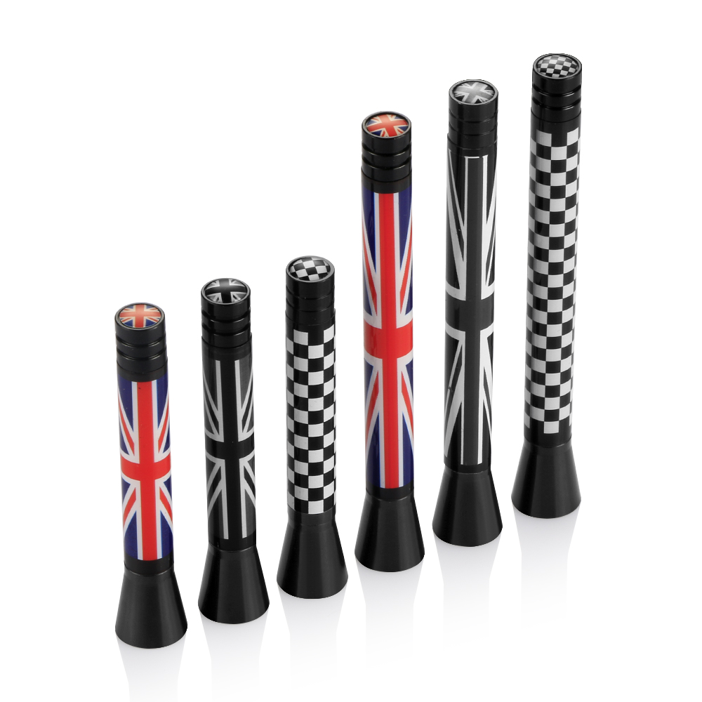 Union Jack Car Roof Radio Aerial fm Antenna Antena for Mini Cooper S JCW R55 R56 R57 R60 F55 F56 Clubman Countryman Accessories цена