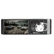 4.1 дюймов автомобиль, Радио стерео плеер Bluetooth телефон AUX-IN MP3 FM/USB/1 DIN/пульт дистанционного управления 12 В Автозвук дистанционного Музыка динамик