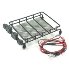 Crawler Luggage Tray Set (S) For Tamiya CC01 pajero jeep (Led)