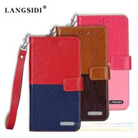 Fashion Leather Stitching Business Style Case For Xiaomi Redmi 4A Redmi4A Luxury Mobile Phone Bag Card