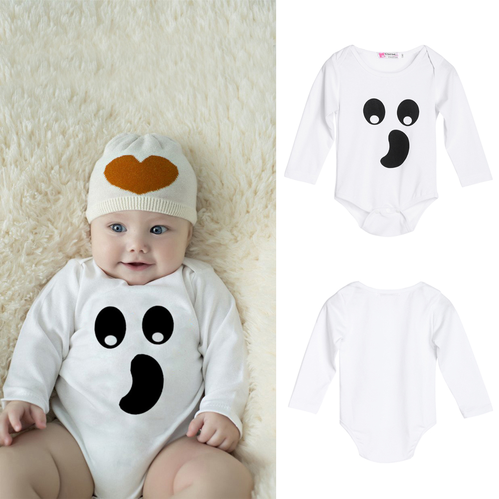 1cb0440c2 Spring Autumn Baby Boys Girls Bodysuit Newborn Infant oddler Long ...