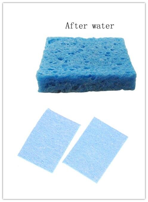 5pcs/lot 4*6cm Welding Cleaning Sponge Pads  Soldering Iron Solder Tip Hand Tool