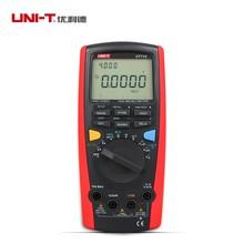 UNI-T UT71C Intelligent LCD Digital Volt Ampere Ohm medidor de capacitancia Temp