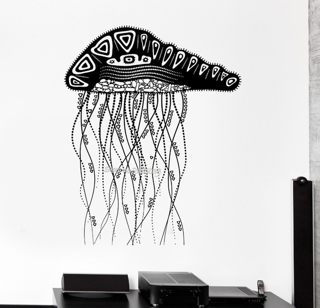 Online Shop New Arrivals Decal Removable Jelly Fish Ocean Marine - Cool vinyl decals