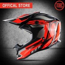 купить TORC brand motorcross helmet motorcycle off road helmet motorbike downhill capacete cascos para moto DOT T32 racing helmet дешево