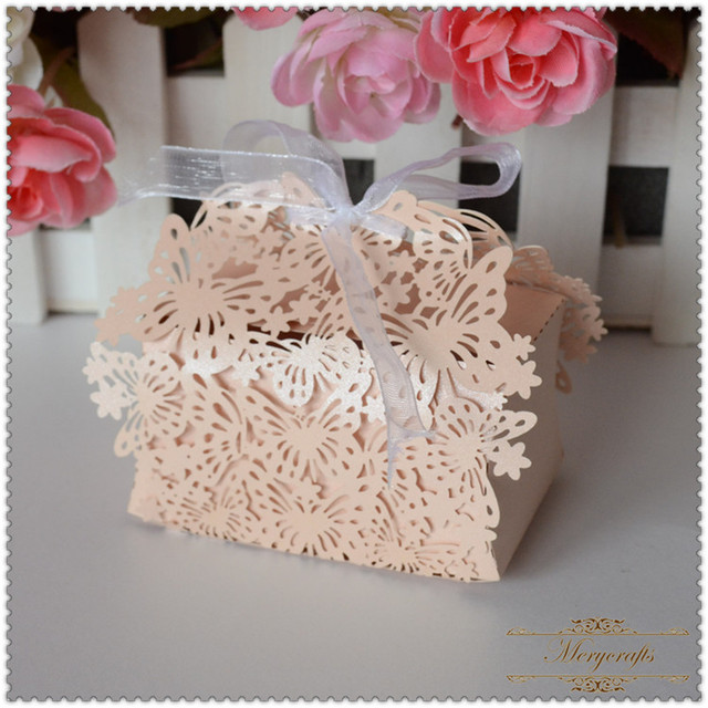 Laser cut birthday giveaways indian wedding gifts butterfly boxes ...