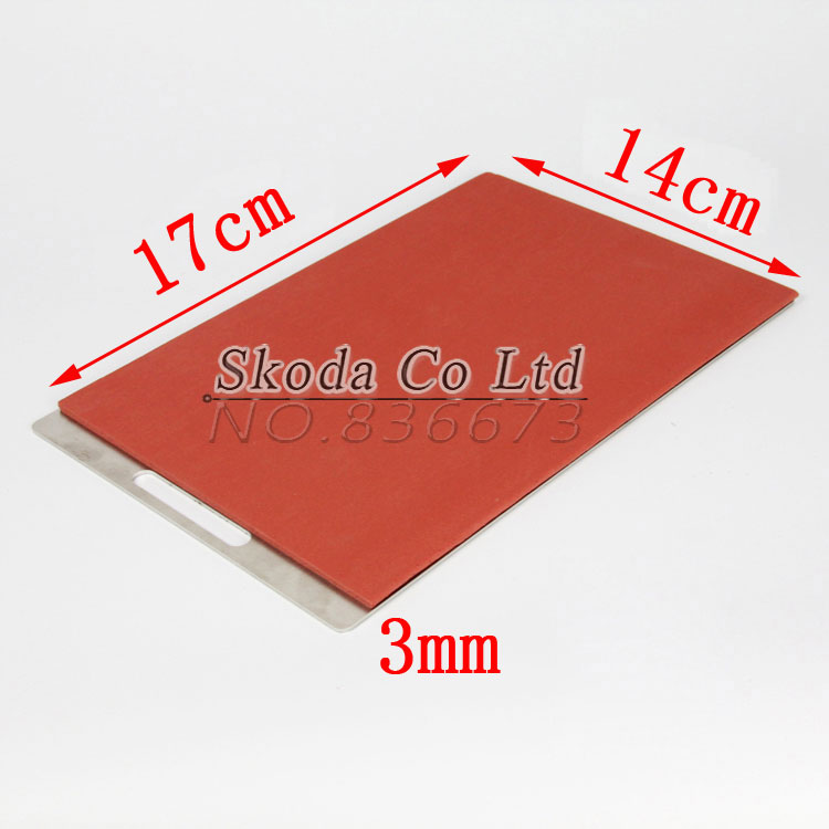 17*14CM Silicone Pad Silica Mat Gel of KO TBK OCA Vacuum Laminating Machine LCD Touch Screen Repair Separator Kit Tool tbk lcd repair equipment oca vacuum laminator machine 3 in1 automatic oca film machine aluminum alloy automatic separator