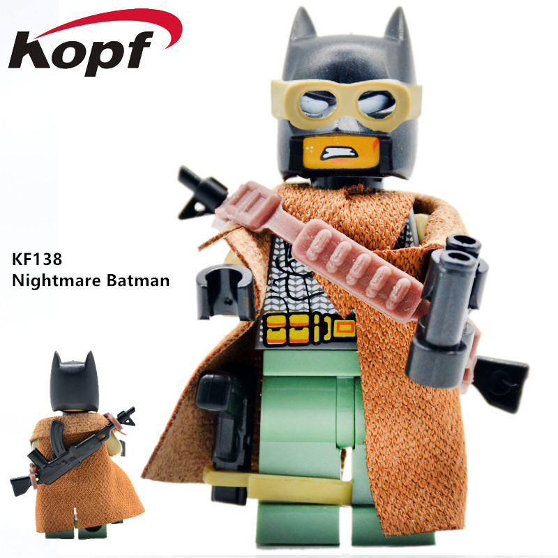 Super Heroes Single Sale Batman Nightmare Jessica Jones Han Solo Bricks Action Building Blocks Education Toys for children KF138
