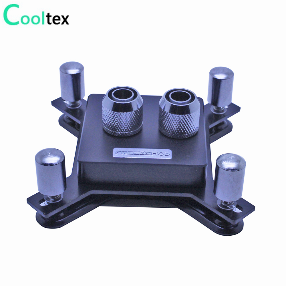 DIY <font><b>CPU</b></font> Water cooling Block Waterblock watercooled block <font><b>cooler</b></font> computer for intel LGA 775/<font><b>115x</b></font>/1366/2011 High quality image
