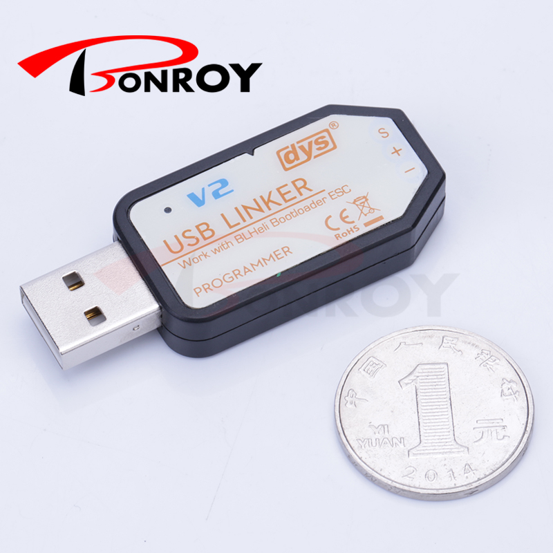 DYS ESC USB Linker V2 Programmer For XM series ESC XM10A XM20A XML20A XM30A free