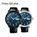 Original finow q3plus smart watch mtk 6580 android 5.1 quad core suporte bt wifi gps 3g relógio pk kw88/dm368 smart watch telefone
