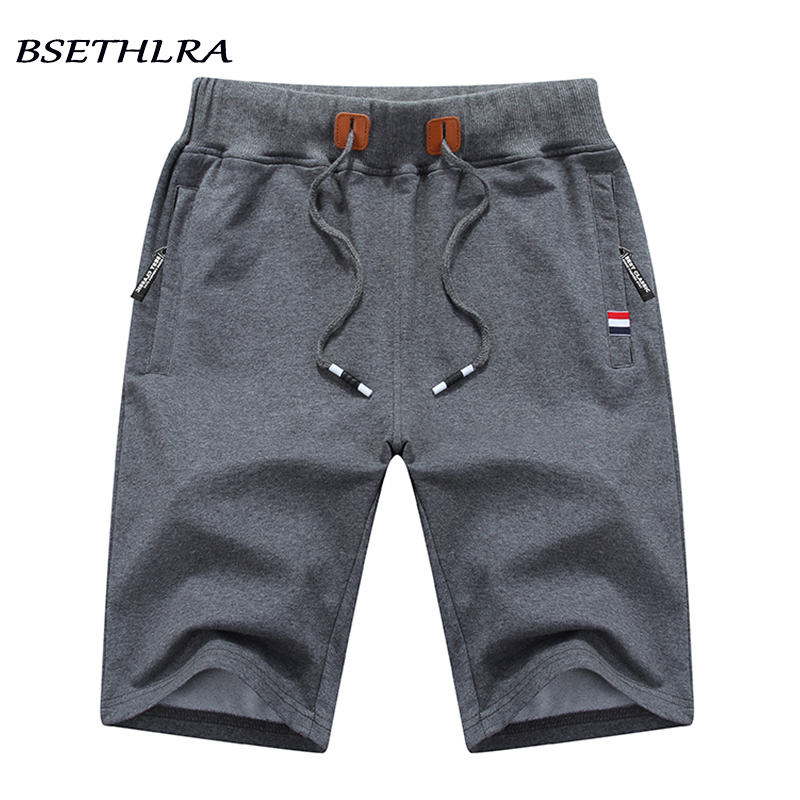 BSETHLRA 2020 Solid Men's Shorts 5XL Summer Mens Beach Shorts Cotton Quality Elastic Casual Male Shorts Homme Brand Clothing