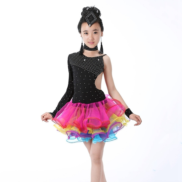 latin dance dresses for girls - photo #1