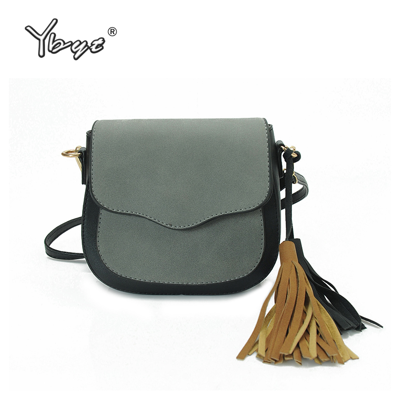 YBYT brand 2018 new tassel nubuck PU leather women small package female casual satchels ladies shoulder messenger crossbody bags ybyt brand 2018 new fashion casual handbags women flap luxury pu leather clutches ladies small shoulder messenger crossbody bags