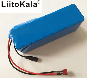 Image 1 - HK Liitokala 36V 6ah 500W 18650 lithium battery 36V 8AH electric bicycle with PVC case for electricity bicycle