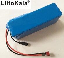 香港 Liitokala 36 12V 6ah 500 ワット 18650 リチウムバッテリー 36 V 8AH 電動自転車 pvc ケース電気自転車