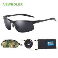 Поляризованные очки для рыбалки металлическая оправа для мужчин спортивные солнцезащитные очки для рыбалки для вождения для путешествий В...